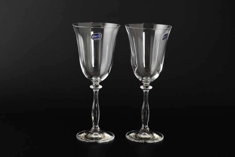 40600 Набор бокалов для вина Bohemia Crystal 250 мл (2 шт)