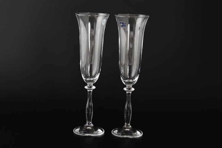 40600 Набор бокалов для шампанского Crystalex 190 мл (2 шт)