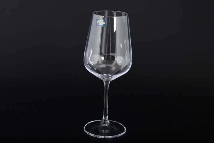 DORA Набор бокалов для вина 450 мл Crystalite (6 шт)