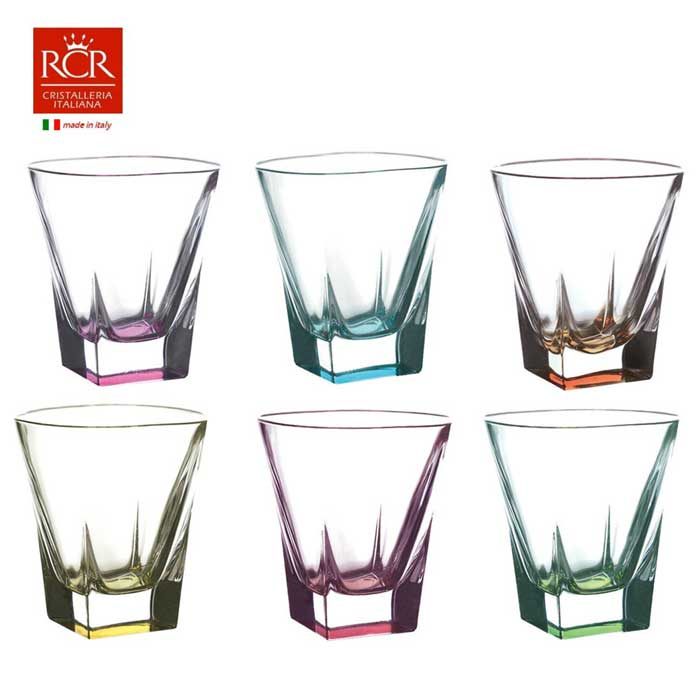 FUSION RCR TRENDS Набор стаканов для виски