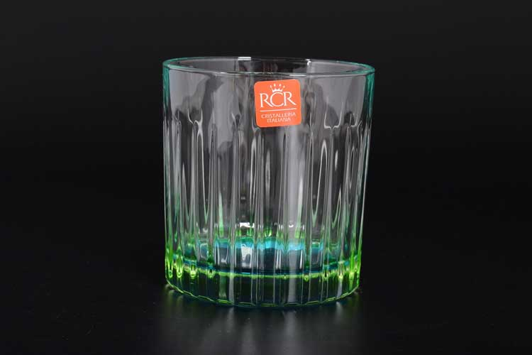 GIPSY - DOF RCR TRENDS Набор стаканов для виски зеленые