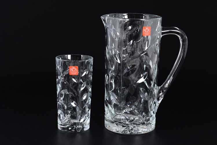 LAURUS DRINK 7PZ  RCR STYLE Графин и 6 стаканов