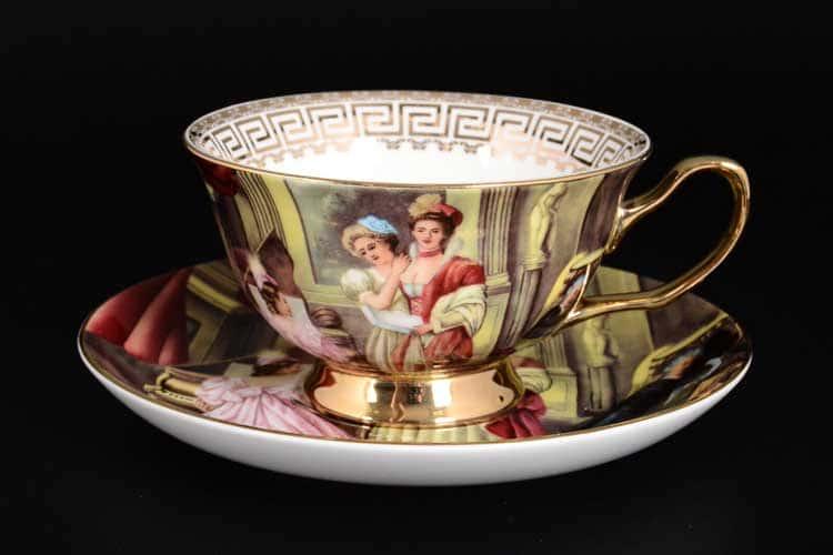 Светское общество Набор чайных пар Royal Classics 6 шт