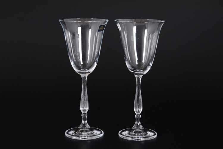 ANTIK Набор бокалов для вина Crystalite 185 мл (2 шт)