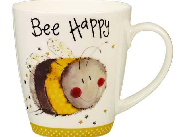 Churchill Кружка Пчела от Алекс Кларк из Англии 360 мл.