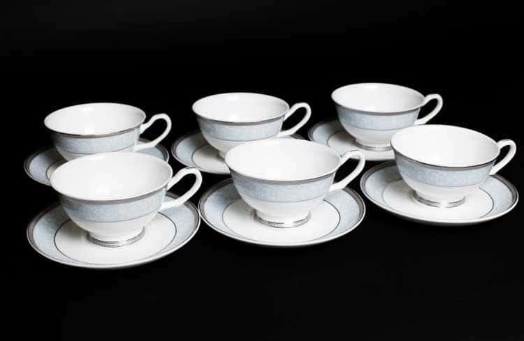 Узор Набор чайных пар 6 шт. 200 мл Rulanda