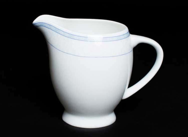 Утренний Молочник 10 см из костяного фарфора Rulanda