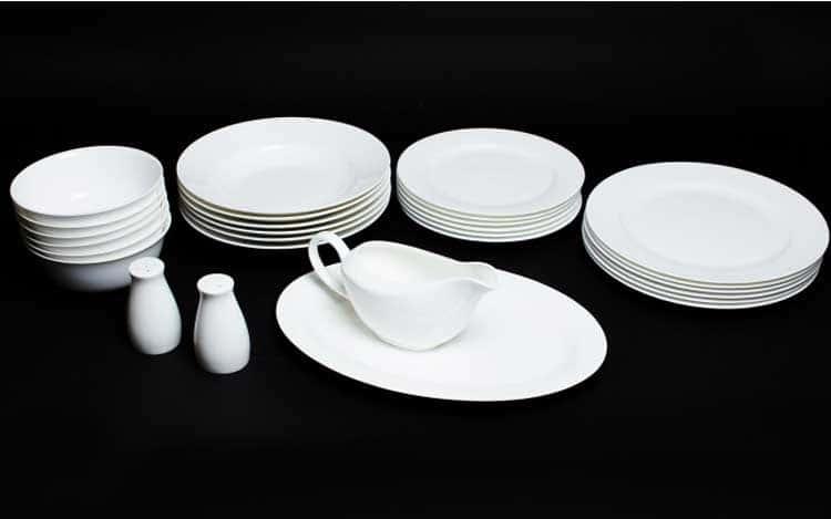 Белый Столовый сервиз Rulanda на 6 персон 28 предметов