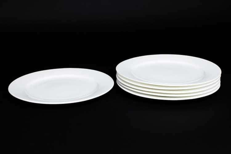 Белый Набор тарелок Rulanda 6 шт. 25 см