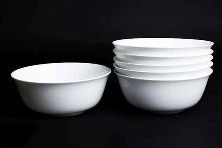 Белый Набор салатников 6 шт. 15 см Rulanda