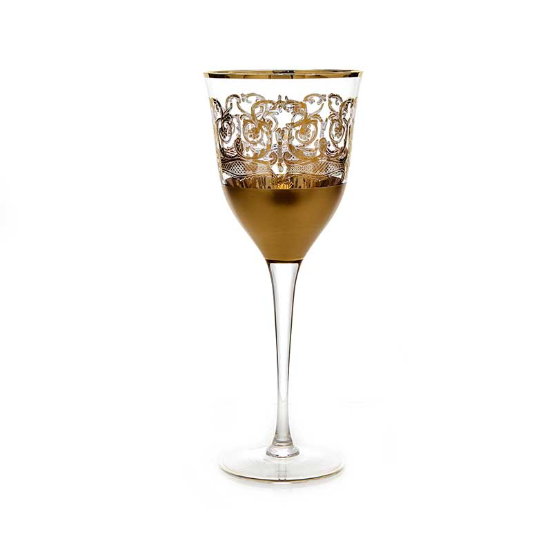 Тимон золото Набор бокалов для вина на 6 перс.