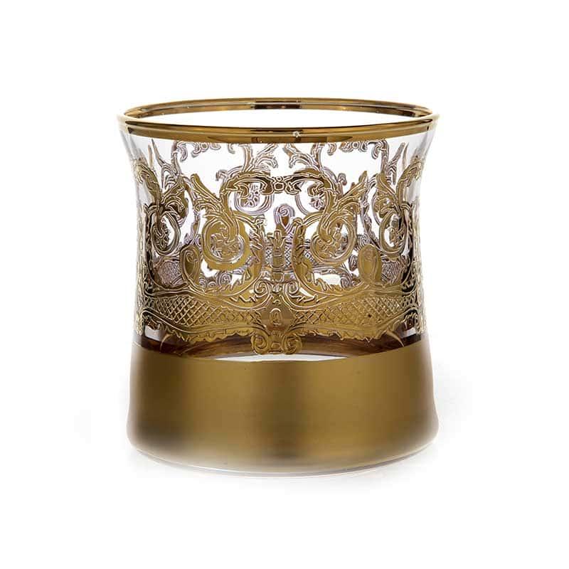 Тимон золото Набор стаканов для виски на 6 перс.