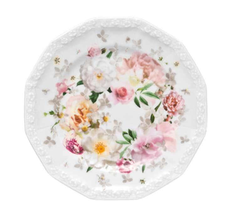 Пинк Розе Тарелка круглая Rosenthal 17 см. 1 шт.