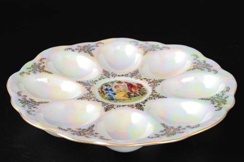 Мадонна перламутр Корона 0001 Поднос для яиц 21 см QC