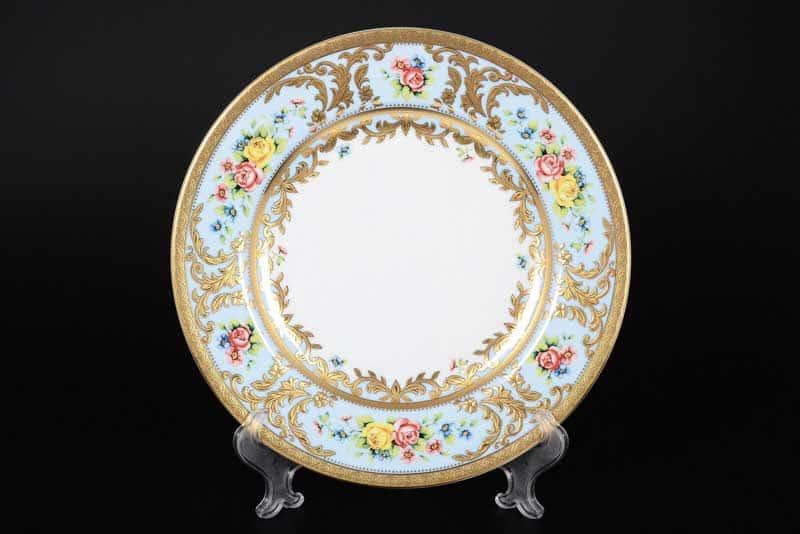 VIENNA BLUE GOLD Набор тарелок 26,5 см (6 шт) Falken