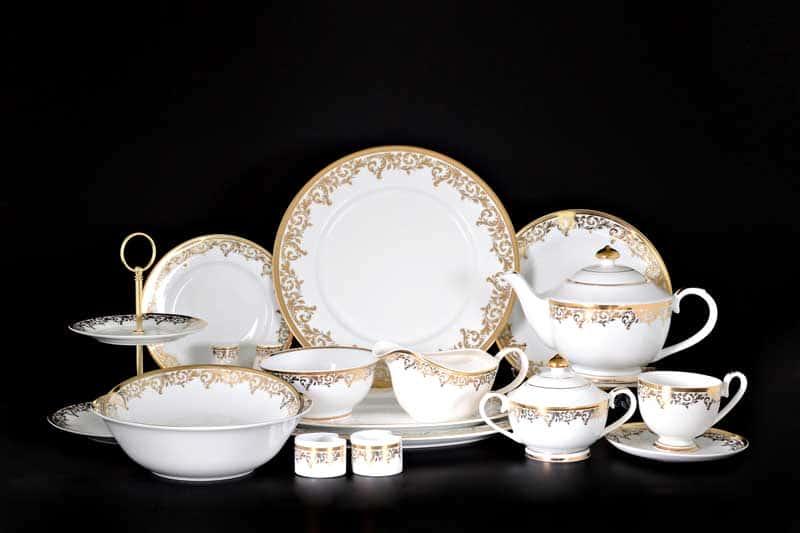 Согдиана Столово-чайный сервиз Royal Classics на 12 персон 79 предмет