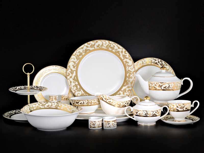 Навруз Чайно-столовый сервиз Royal Classics на 12 персон 79 предмет