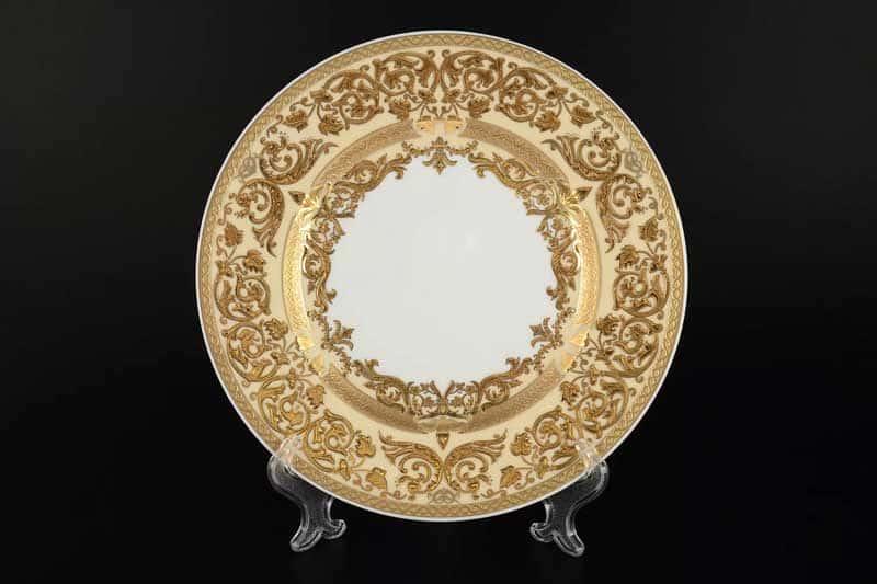 Natalia creme gold Набор тарелок 19 см Falken (6 шт)
