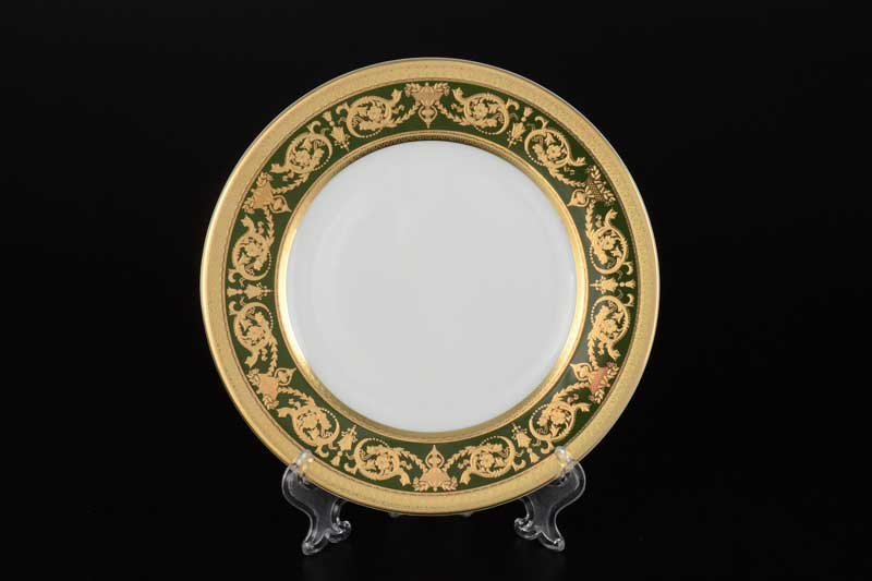 Imperial Green Gold Набор тарелок Falken 17 см (6 шт)