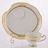 Симфония Золотая Эгоист Набор чайный Weimar на 1 персону 2 предмета