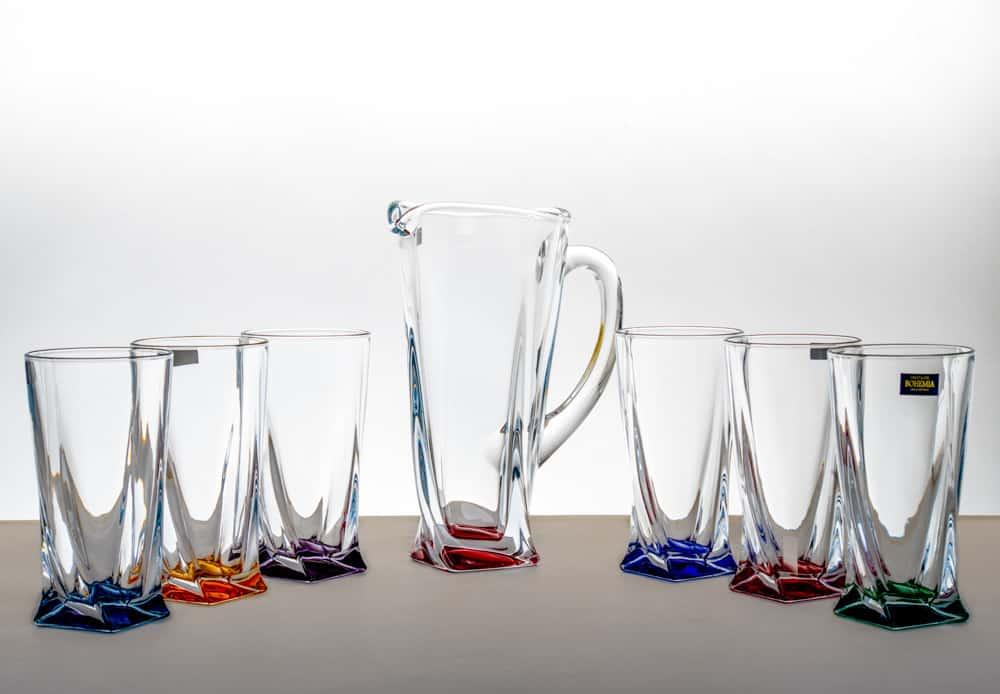 Квадро Калорс Набор для воды на 6 перс.7 пред. Crystalite