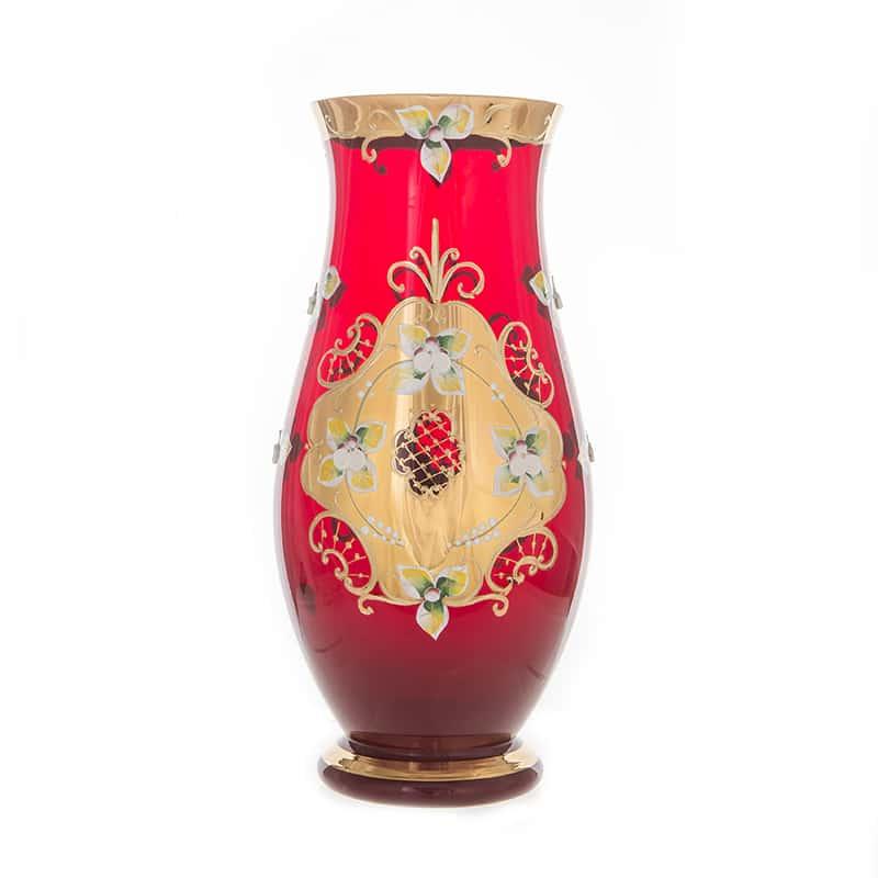 Лепка красная 8304 Ваза для цветов U. Glass 30 см