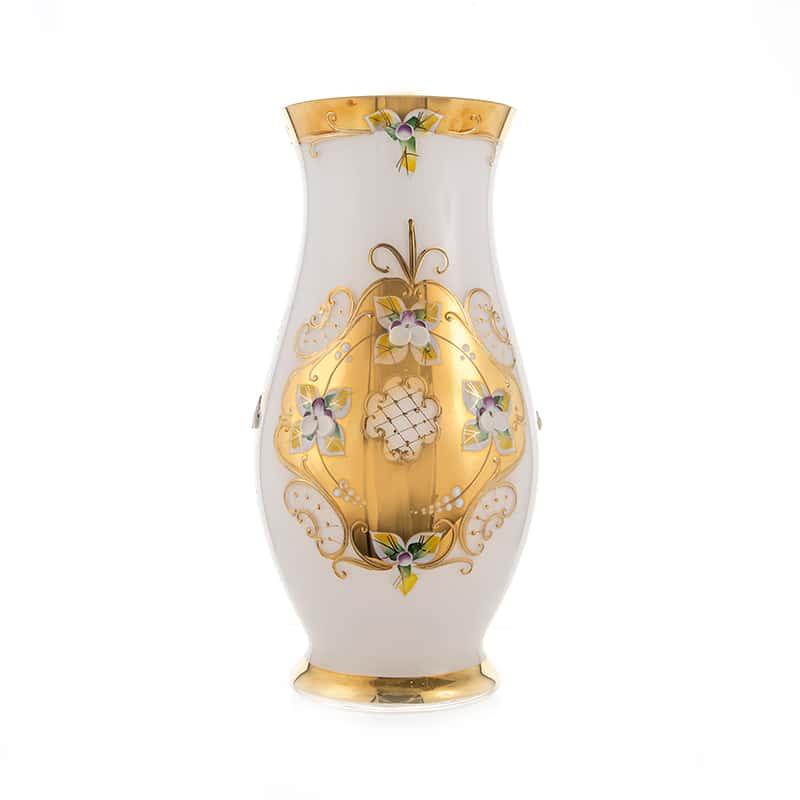 Лепка белая 8304 Цветочница 26 см U. Glass