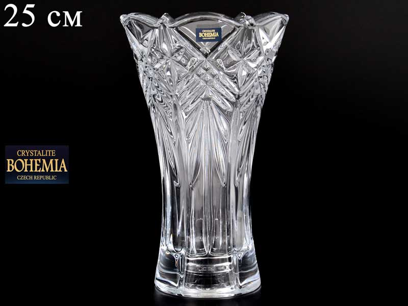 TAURUS Ваза для цветов Crystalite Bohemia 25 см