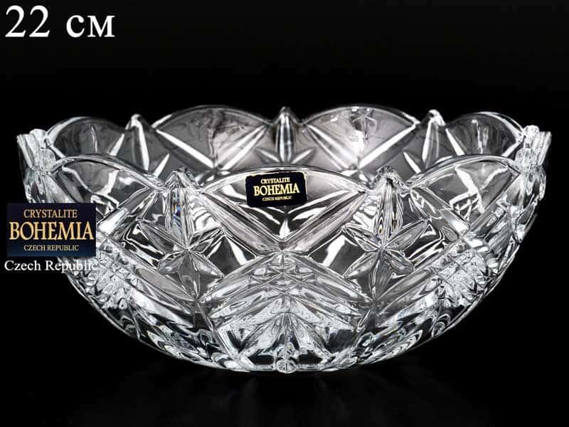 TAURUS Ваза для конфет Crystalite Bohemia 22 см