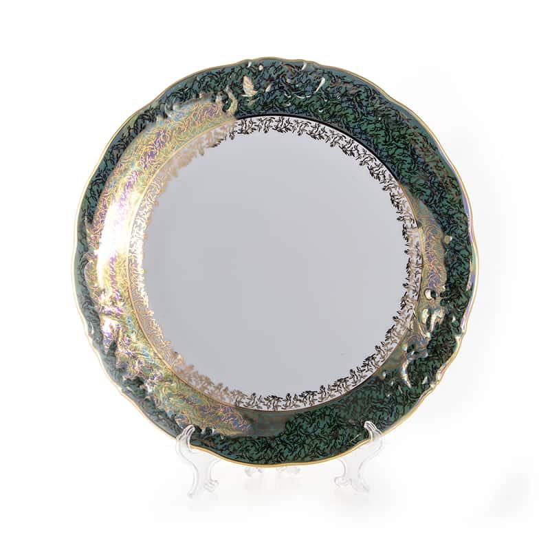 Лист зеленый Блюдо круглое Carlsbad 32 см