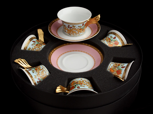 Ле Жардин Набор для чая на 6 перс. 12 пред. Rosenthal