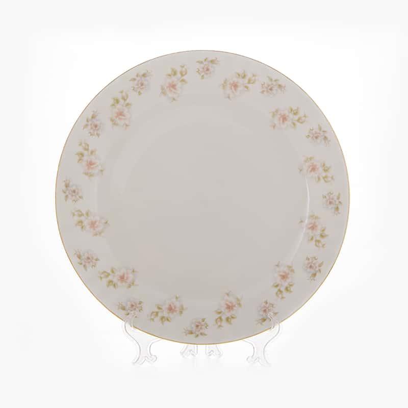 Блюдо Цветы Рельеф золото 32 см Bavarian Porcelain