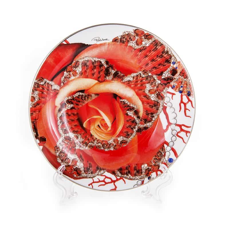 Роза Джевел Набор десертных тарелок 15,5 см Roberto Cavalli