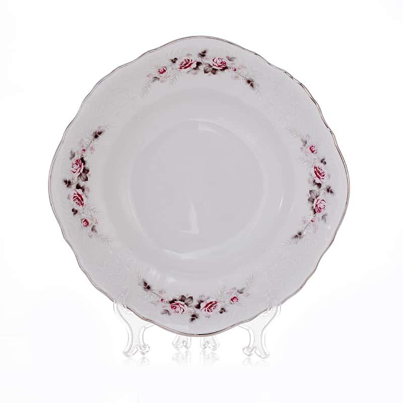 Роза серая платина 5396021 Салатник круглый Bernadotte C 23 см.
