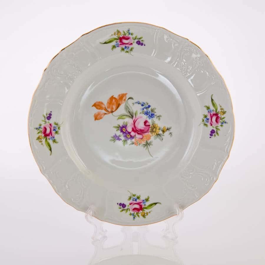 Полевой цветок 5309011 Блюдо круглое глубокое Thun 32 см 10254