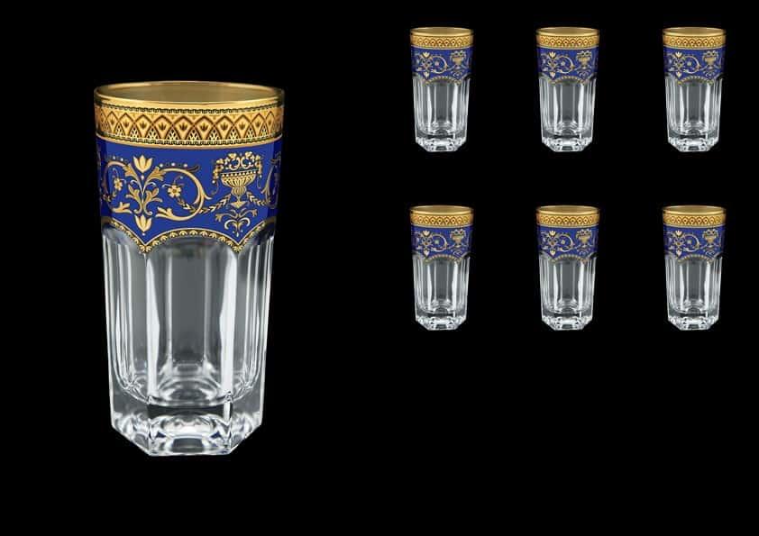 Провенза Империя Набор стаканов для воды Astra Gold  370 мл 6 шт.