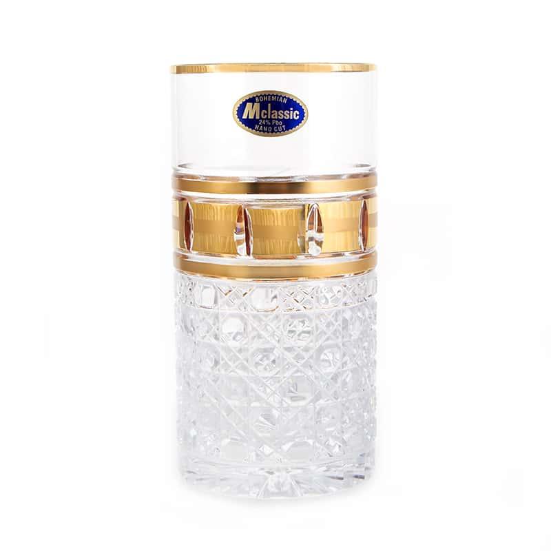 Золотые окошки 4 Набор стаканов для воды Mclassic 350 мл. 6 шт.