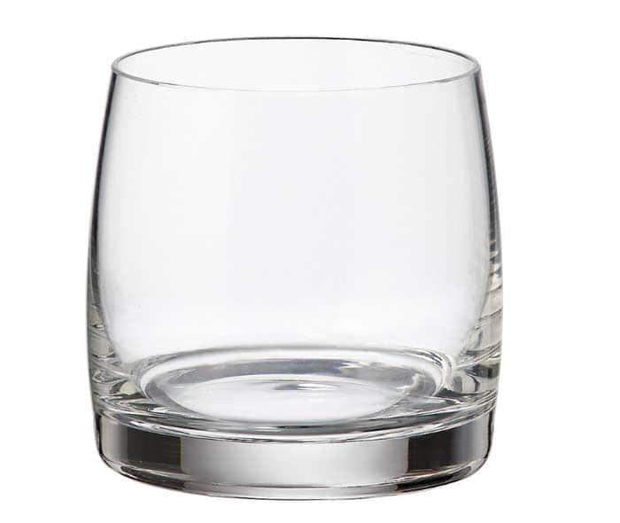 Идеал Недекорированный  Набор стаканов для виски Bohemia Brilliant 230 мл (6 шт)
