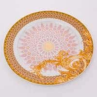 Блюдо круглое фарфоровое Бизант 30 см Розенталь