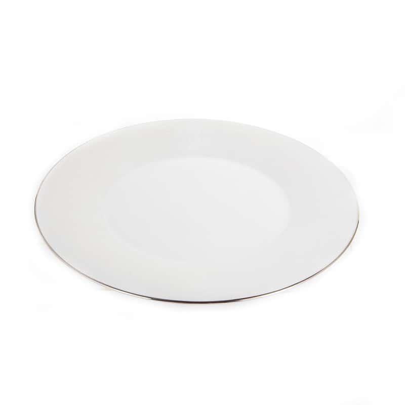 Лиззард Платин Блюдо круглое Roberto Cavalli 32 см