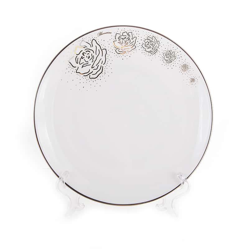 Платинум Набор тарелок Blumarine 21,5 см.