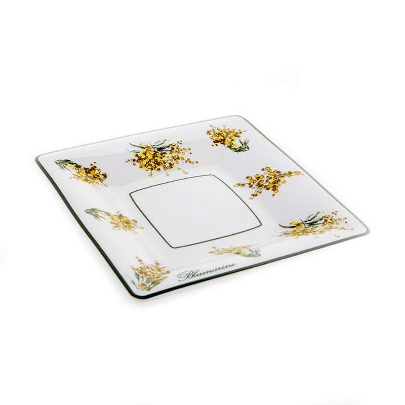 Мимоза Набор десертных тарелок Blumarine 12х12 см.
