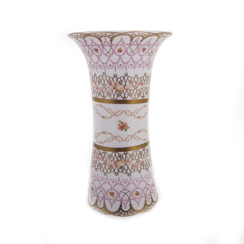 Бродерия Рубан Ваза для цветов Blumarine 24,5 см.