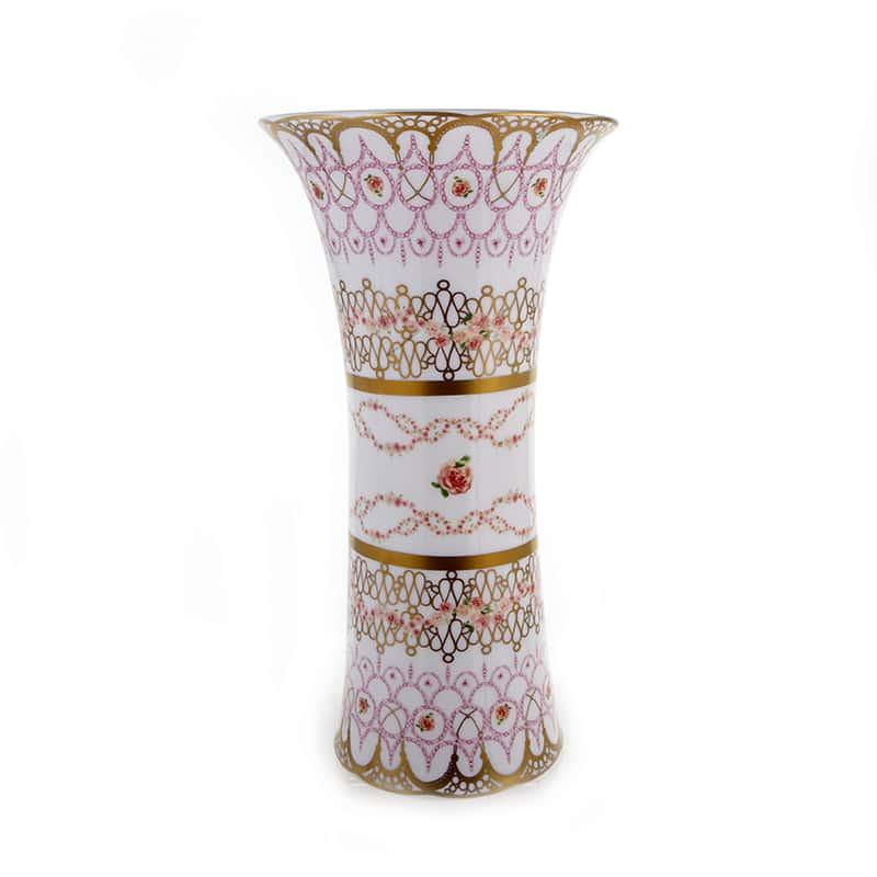 Бродерия Рубан Ваза для цветов Blumarine 33 см.