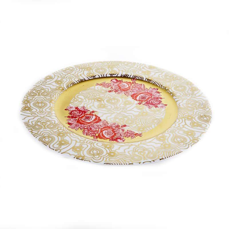 Голден Розес Блюдо круглое Blumarine 30,5 см.