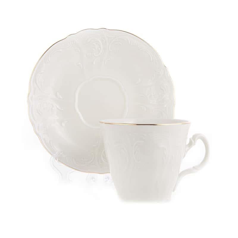Бернадотт Ивори 311011 Набор для чая 240 мл ведерко на 6 перс.