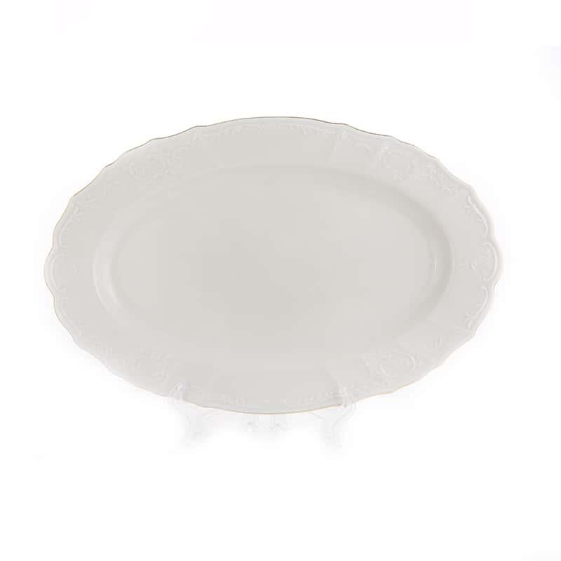 Бернадотт Ивори 311011 Блюдо овальное 34 см