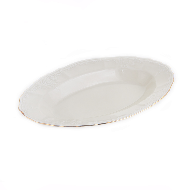 Бернадотт Ивори 311011 Блюдо овальное 24 см