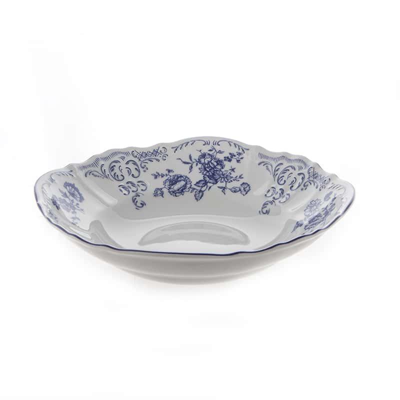 Бернадотт Синие розы 24074 Салатник круглый 25 см