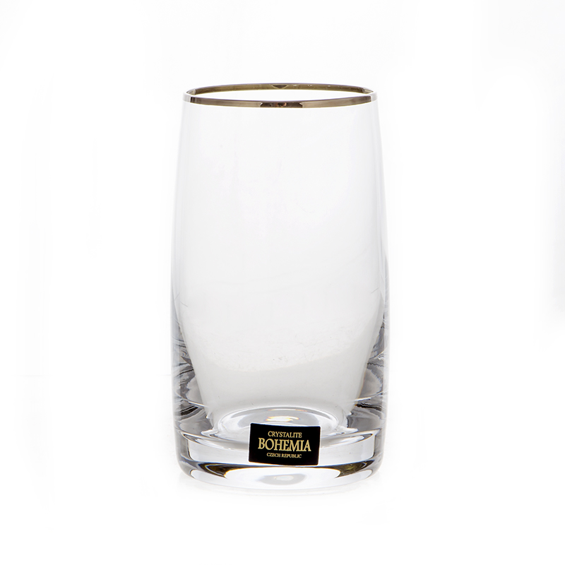 Идеал 203117 Набор стаканов Crystalite Bohemia 250 мл. 6 шт.